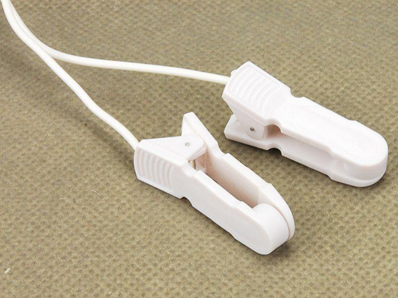 홈 테라피 Equipmen 젖꼭지 클램프 전기 충격 젖꼭지 클립 세트 여성 유방 마사지기 펄스 물리 치료 장난감 I9-1-11