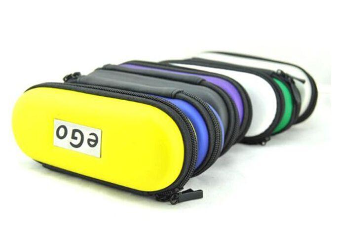 eGo Reißverschluss Fall Leder Tragetasche für elektronische Zigaretten Ugo Evod Vision Spinner 2 Starter Kits bunte Zipper L / M / S Größe DHL