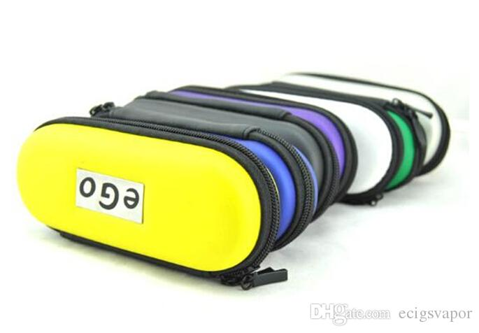 эго молния кожаный чехол сумка для электронных сигарет Ugo evod vision spinner 2 стартовые комплекты красочные молнии L/M / S размер DHL