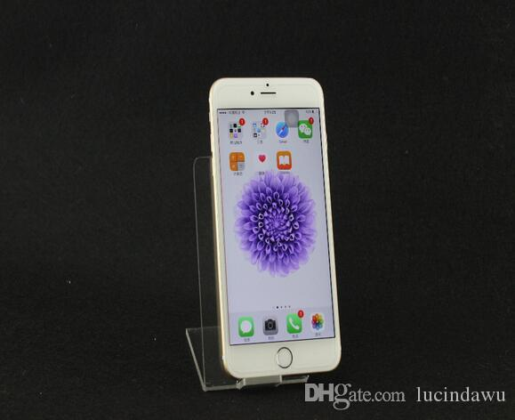 Akrilik Mobil cep Telefonu tutucu Vitrin Masaüstü dijital mağaza akrilik vitrin