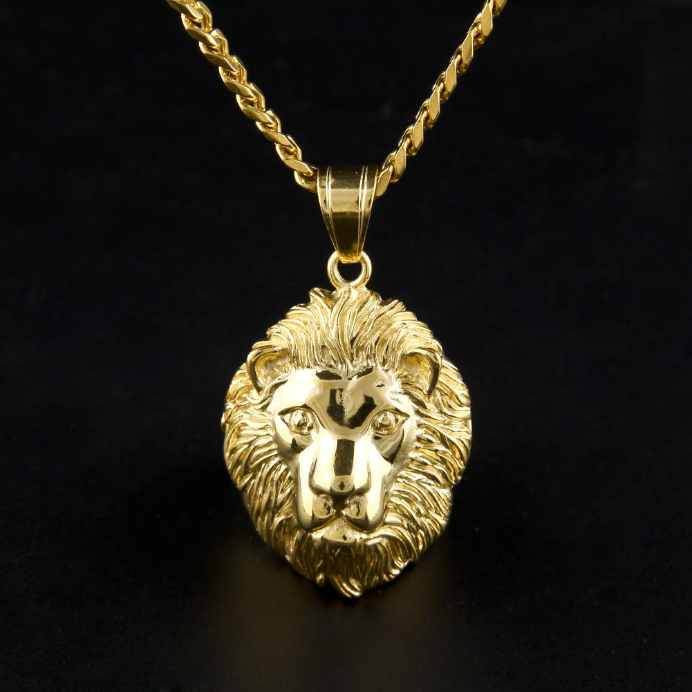 Wholesale hip hop gold tone games of throne roar lion pendant wholesale hip hop gold tone games of throne roar lion pendant necklace high quality stainless steel animal lion charm pendant long chain amethyst pendant mozeypictures Image collections