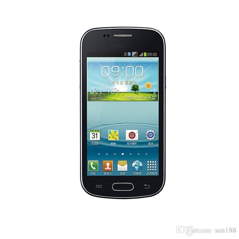Doppelkern 3G WCDMA 4G Rom 3MP-Stab entriegelte Telefonkamera Android durch Mobiltelefon des intelligenten Handys mit 4 Zoll S7572 mit WIFI GPS