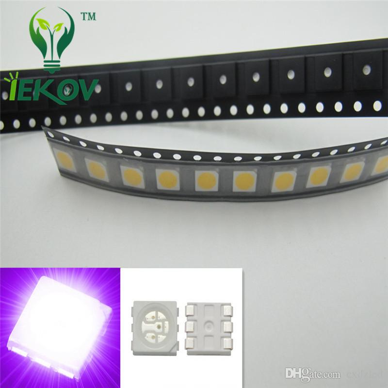 Useful 1000pcs Smd/smt 5050 Led Red Yellow Green Blue White Warm White Rgb Plcc-6 Chip-3 Super Bright Lamp Light High Back To Search Resultselectronic Components & Supplies Diodes