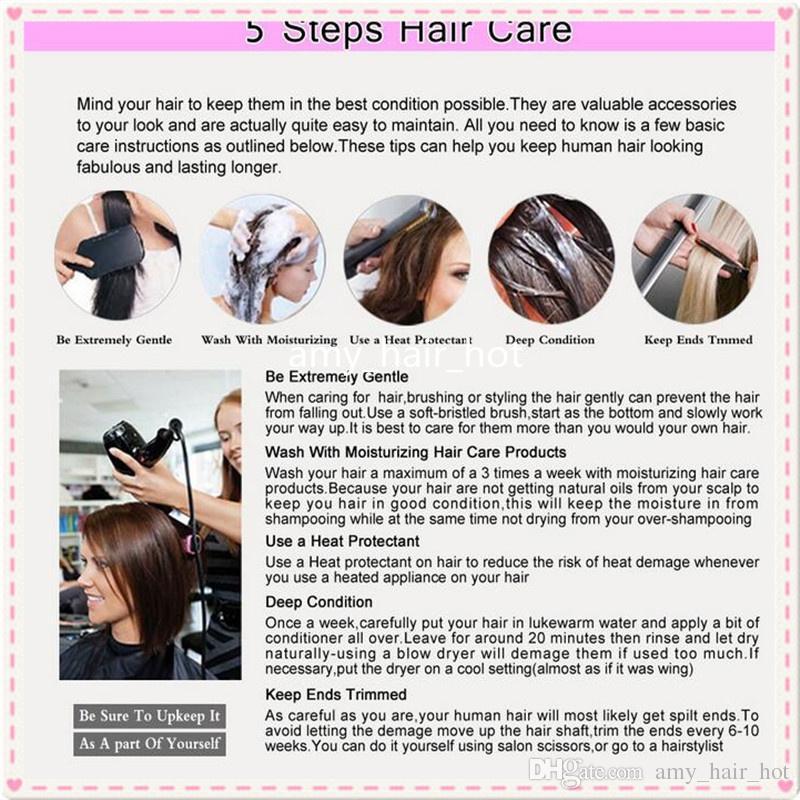 Soyeux Droite Ombre Couleur T1B / 613 Remy Brésiliens Cheveux Avant de Lacet Perruques de Cheveux Humains pour les Femmes Noires Moitié Main Attaché 16-24 ''