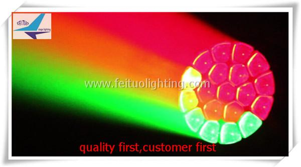 2xlot Zoom Bee Eye 19x15W Big Eye Par High Power RGBW 4in1 LED Bee Par Light + Wash LED DJ Disco Party Wedding Stage Lighting