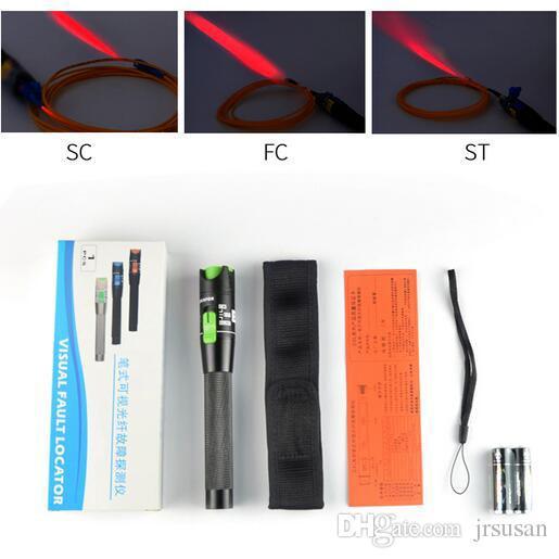 Visual Fault Locator 30mW Détecteur FC Mâle à LC Femelle Adaptateur LC SC FC ST Connecteur Câble Laser Optique Fiber Tester 20 à 25KM