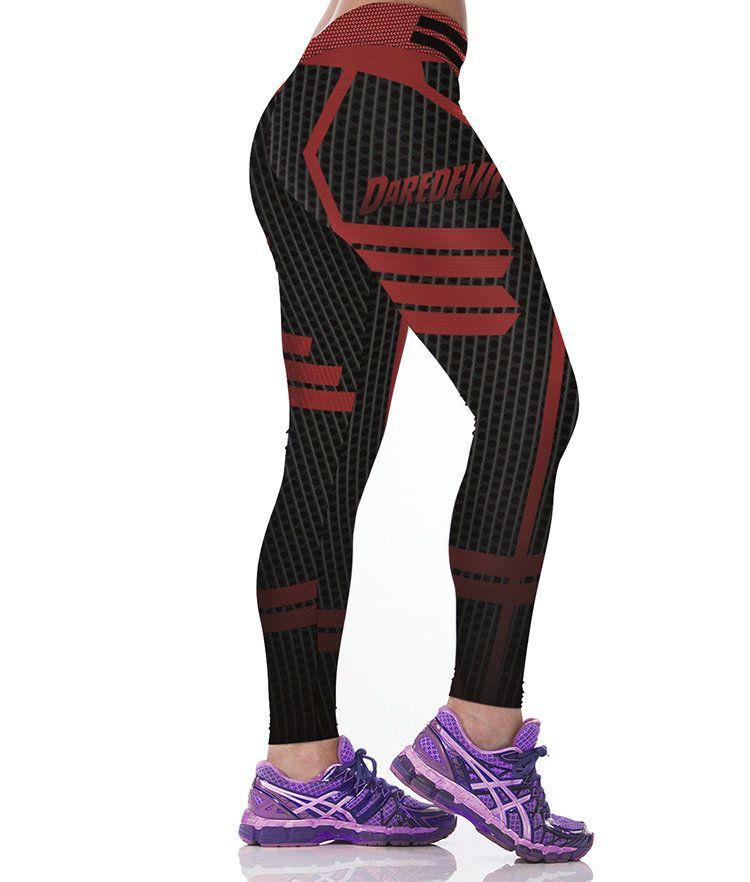 Daredevil pants Film Super Matt Hero Matt Murdock pour femmes, vêtements de sport, vêtements de sport pour filles, entraînement physique, vêtements de sport, pantalons de sport