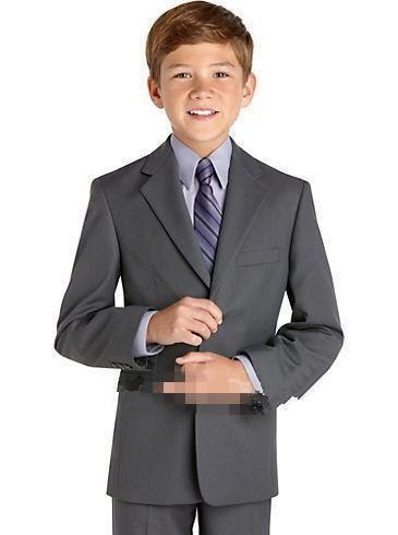 2016 new Kids Formal Wear Abiti da sposa ragazzi eleganti Abiti da cerimonia bambini Smoking personalizzati gilet + pantaloni + giacca