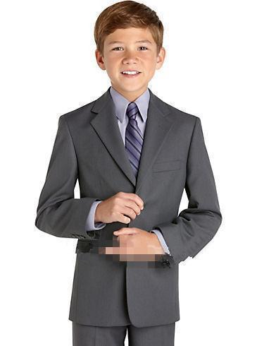 2016 nouveaux vêtements de cérémonie pour enfants élégant costume de mariage costumes de cérémonie pour garçons Tuxedos sur mesure veste + pantalon + veste