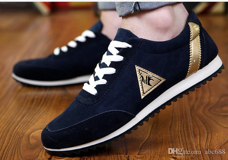Men Shoes England Trend Casual Leisure Shoes Leather Shoes Breathable For Male Footear Loafers Men's Flats