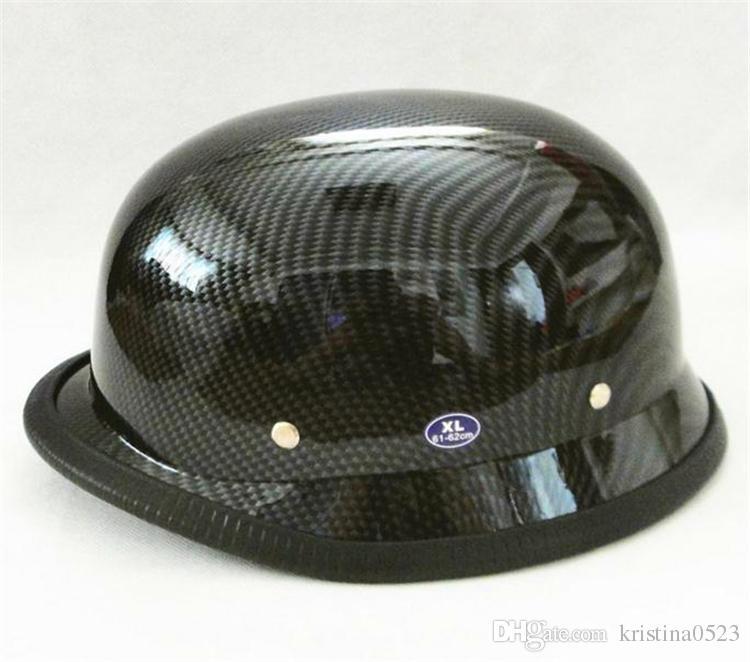 WWII German Style Vintage Motorcycle Helmet Moto Motocicleta Capacete Casco Casque Cruiser Half Helmets DOT Approved