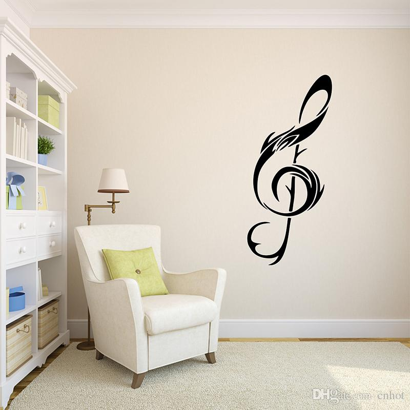 Musical Music Note Art Wall Decor Wall Sticker Quote Art Wall Decals