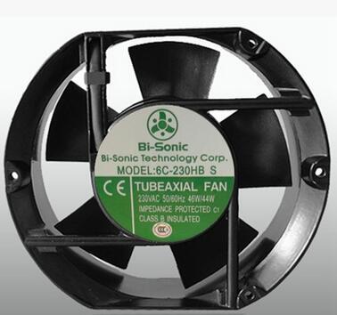 Originale autentico 6C-230HB S 17251MM AC 220V Bi-sonic assiale flusso di raffreddamento Ventola radiatore