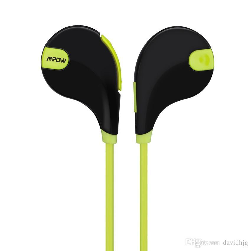 Mpow Swift MBH5 Handsfree Bluetooth 4.0 Earphone Wireless Stereo Sport  Headphones Mic Earbuds AptX For IPhone 6 Samsung Xiaomi Wireless Bluetooth  Earbuds 50 ... 349900247987