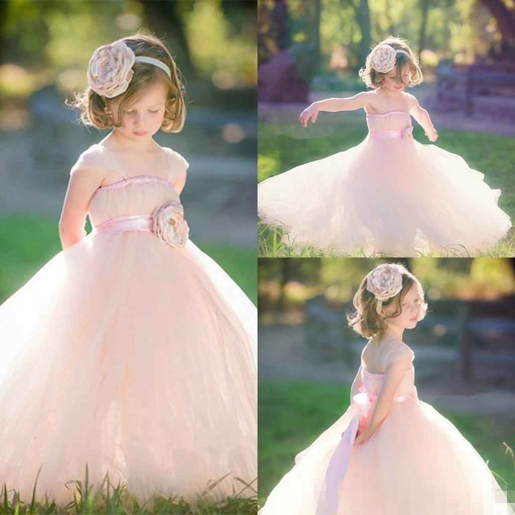 Lmodest children flowergirl little girl pageant dress 2016junior lmodest children flowergirl little girl pageant dress 2016junior flower girls dresses for weddings pink peach tulle kids long backless gown budget flower ombrellifo Image collections