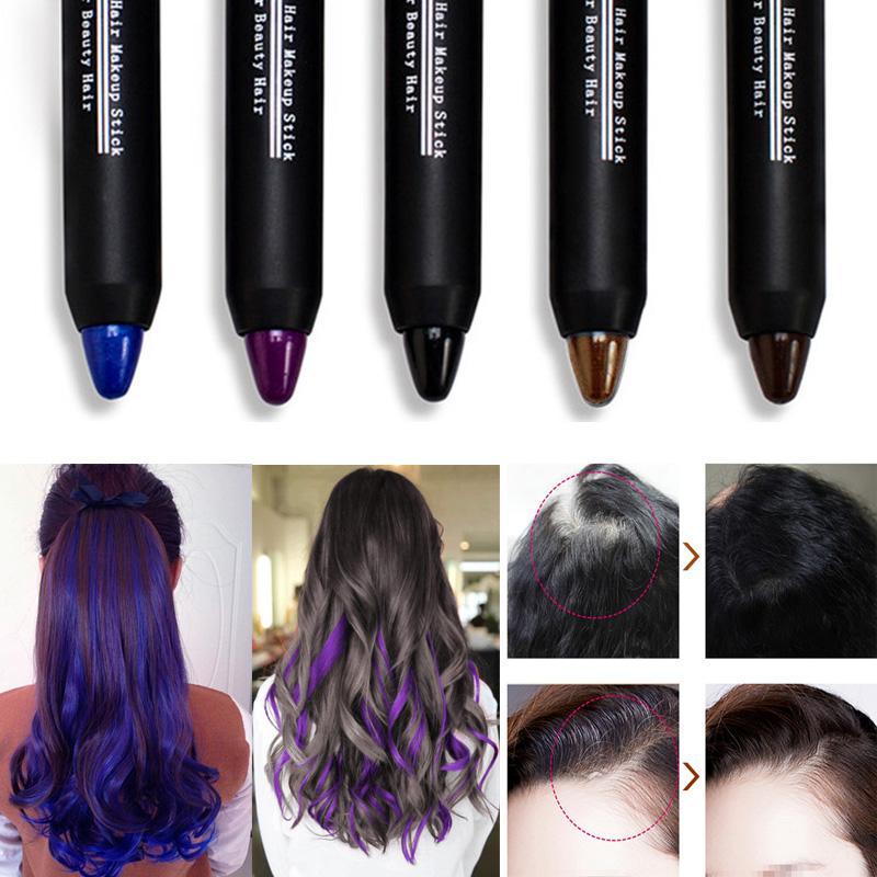 Hair Colour Lipstick Beauty Temporary Coloured Hair Dye Black Hair