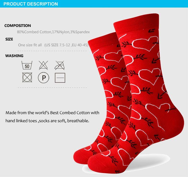 2016 nouveau style tous les hommes en coton coloré chaussettes marque homme chaussettes, chaussette pour hommes, chaussette en coton Livraison gratuite 381