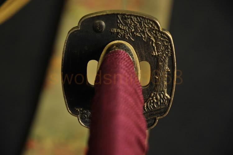 1095 High Carbon Steel Blade Brass Tsuba Japanese Sword
