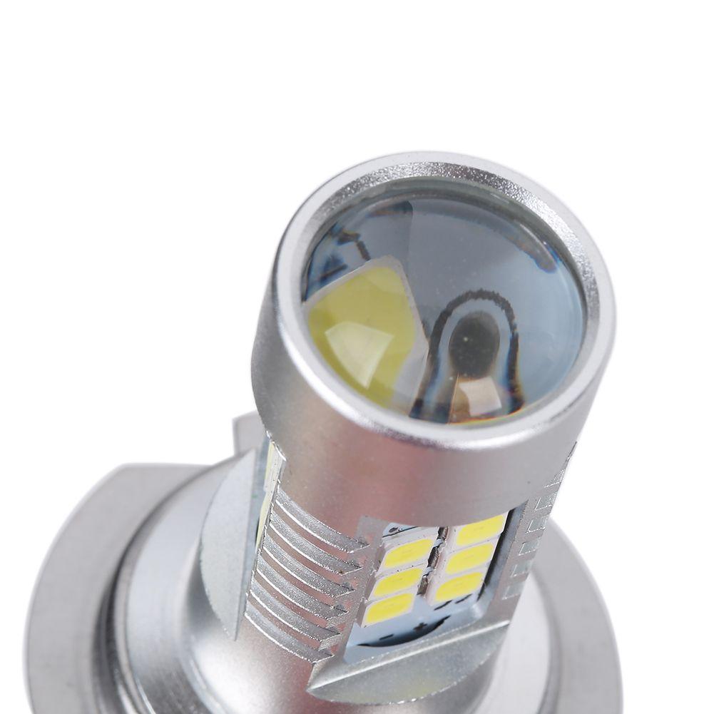 H7 21 W LED Araba Ampul 2835 SMD 12 V 6500 K Beyaz LED Ampul Yüksek Işın DRL Gündüz Çalışan Işıklar Evrensel LED Lamba