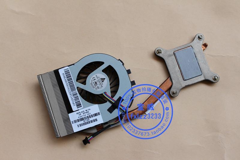 Nuevo original para HP Elitebook 2760P 649759-001 radiador de ventilador heatpipe