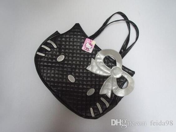Bolso grande del hombro del bolso de HelloKitty Bolso totalizador Hello Kitty tipo bolsos de moda de la cabeza del gato HJIA492