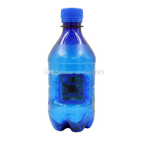 Motion detection water bottle pinhole camera DVR HD 1080P portable Mini camera water bottle camera Home Office Security Nanny Cam blue