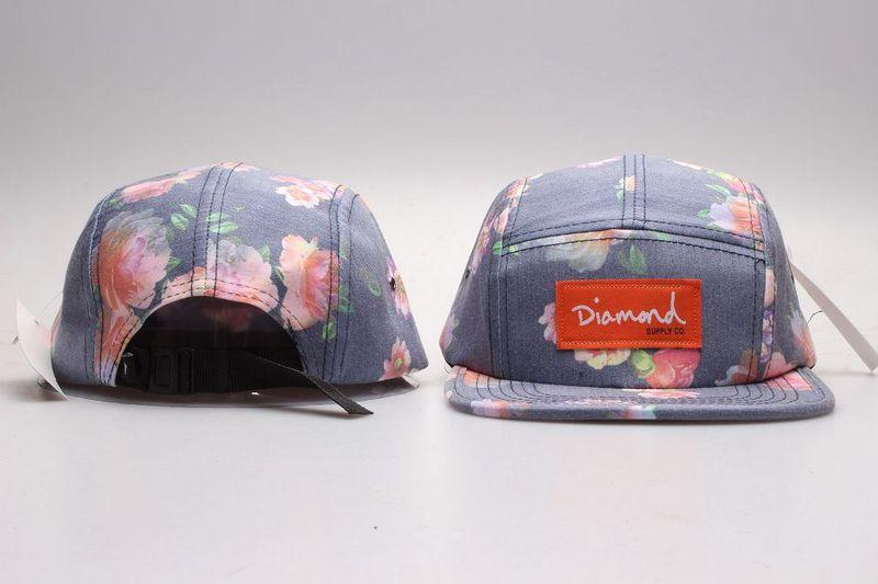 Hot Diamond 5 Panel Hats Blank  6404634cfe7
