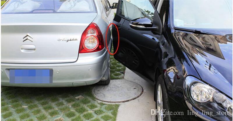 Углеродного волокна двери автомобиля боковому краю протектора Защита Guarder наклейки для AUDI A1 A3 A4 A5 A6 Q2 Q3 Q5 Q7 Car Styling
