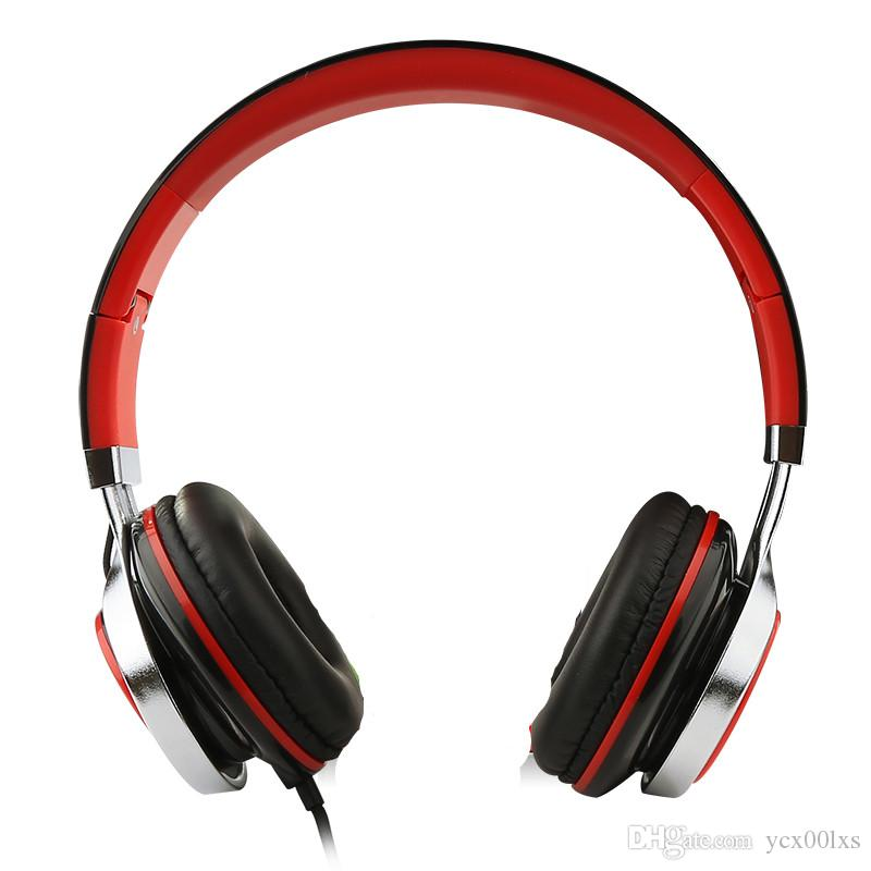 Foldable Cell Phone Music Headphones Wired Headband Earphone For ...