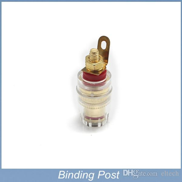 Speaker Cable Terminals Copper Gold Binding Post