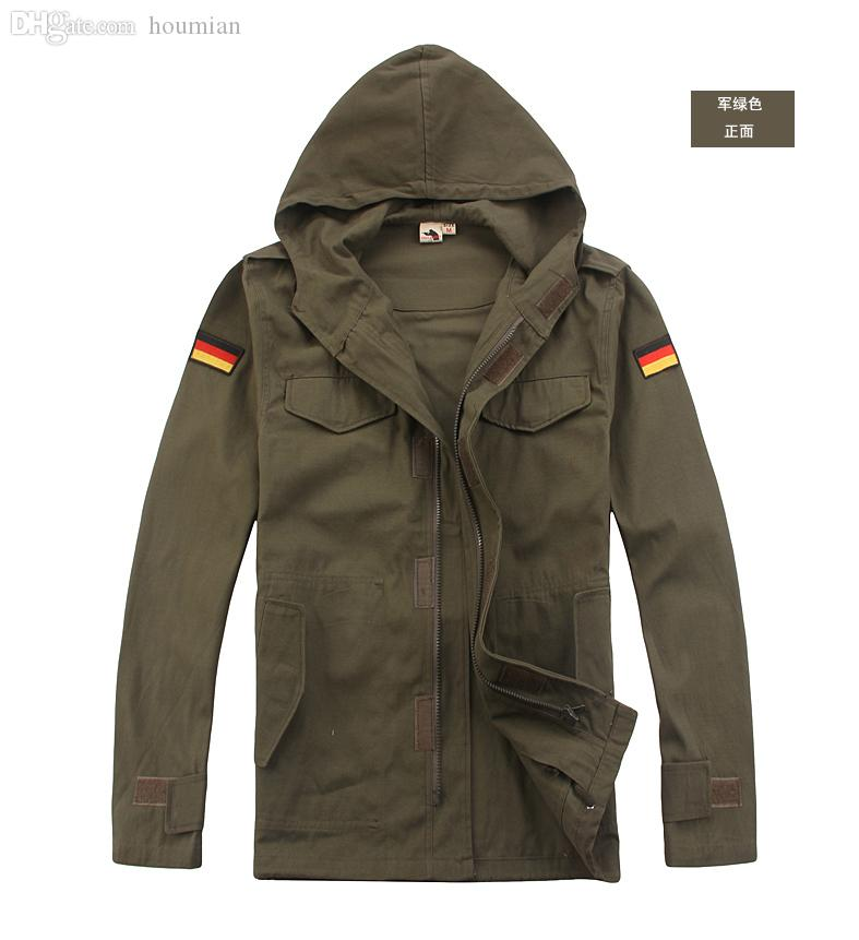 1d6863c149c Wholesale-Hooded Jackets Army Fans Outdoor Design German Army Green Coat  8004 Jacket Waterproof Jacket Mickey Coats Korea Online with  91.8 Piece on  ...