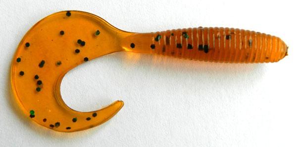 HENGJIA 1.88g 6 cm Pesca Pesca Worms Swimbaits Isca Macia Isca De Pesca Com Mosca Isca De Pesca Plástico Macio Gêmeo Cauda Grubs isca