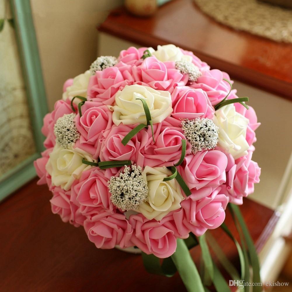 2017 ramos de novia bouquet de fleurs mariage gorgeous. Black Bedroom Furniture Sets. Home Design Ideas