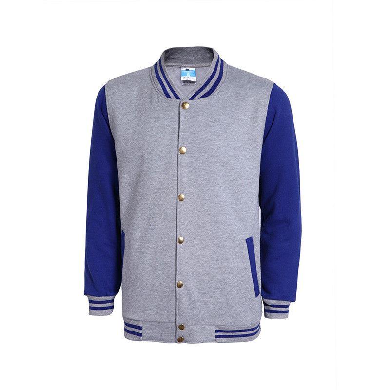 Neue High School Baseball Jacke Männer Veste Homme 2017 Herbst Mens Fashion Slim Baumwolle Varsity Jacken Lässige Marke College Jacke