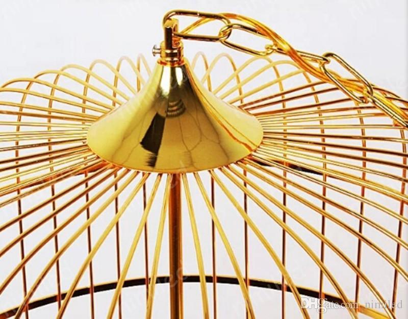 nimi1134 Modern Minimalist Creative Chinese Iron Restaurant Bar Retro Cafe Pendant Lamp Lights Personality Birdcage Chandelier Lighting