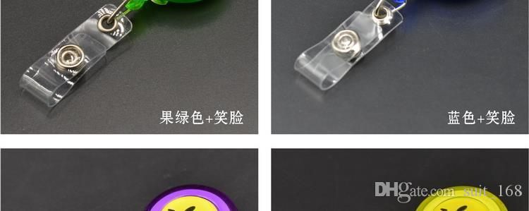Blank badge easy to pull buckle easy to pull retractable buckle buckle badges Badge Holder Lanyard buckle security work permits