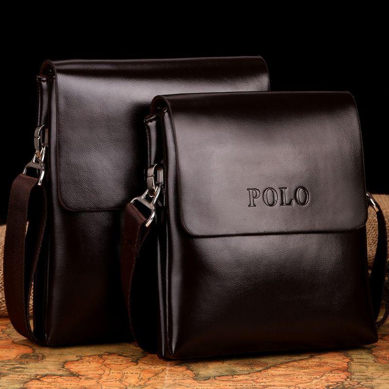 83d59657a4 Wholesale- Fashion POLO Business Men Shoulder Crossbody Bags ...
