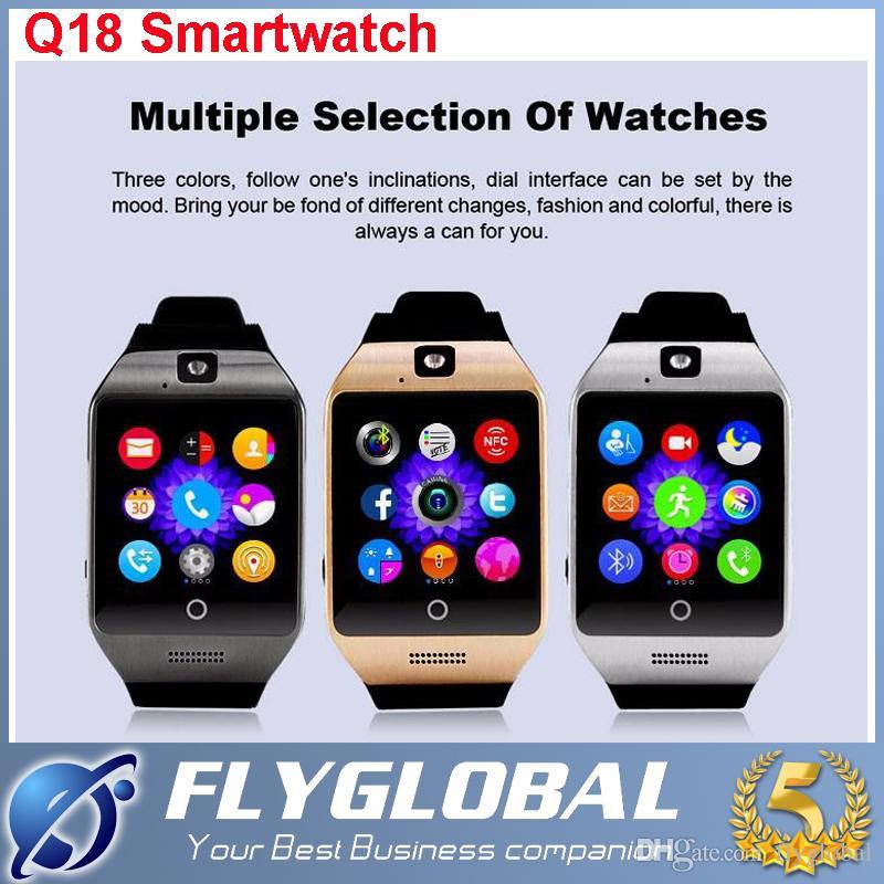 Nfc Smart Watch Phone Q18 Support Sim Tf Card Gsm Bluetooth