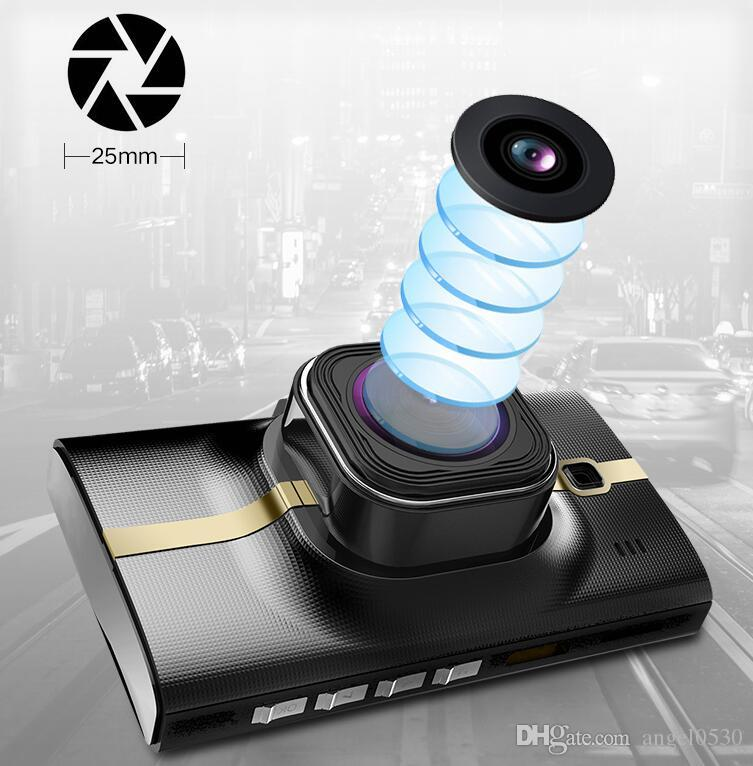 Dual Lens Car Camera Two Lens car dvr Sony IMX322 Lense Full HD 1080P With Front and Rear/ With GPS Tracking, FCW, LDWS, Parking Monitor