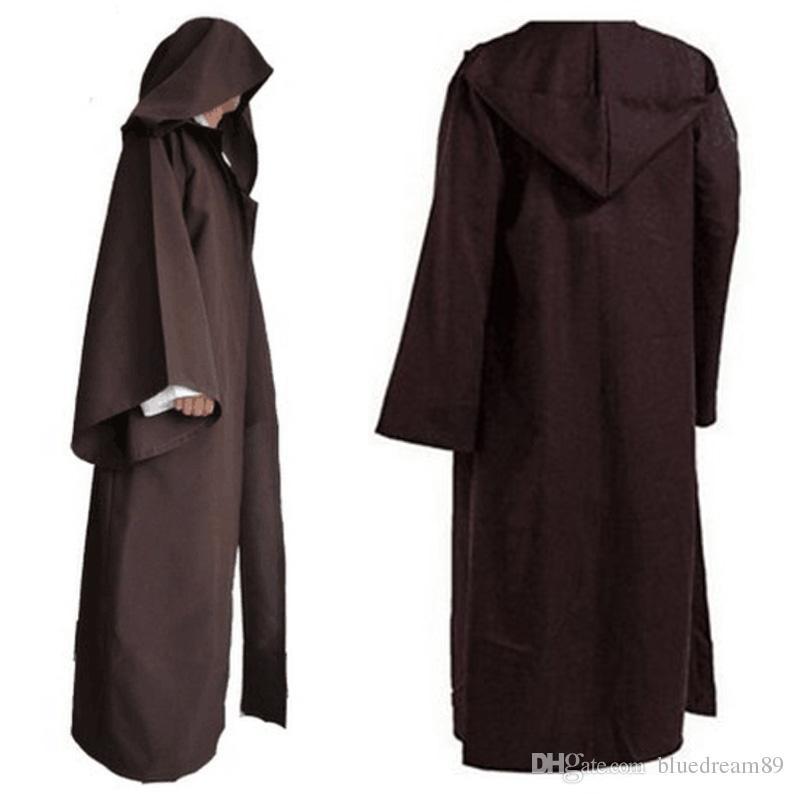 Cos Jedi Knight manto mulheres trajes cosplay adulto mulher traje de halloween pirata superhero capa desempenho robe trajes homens atacado