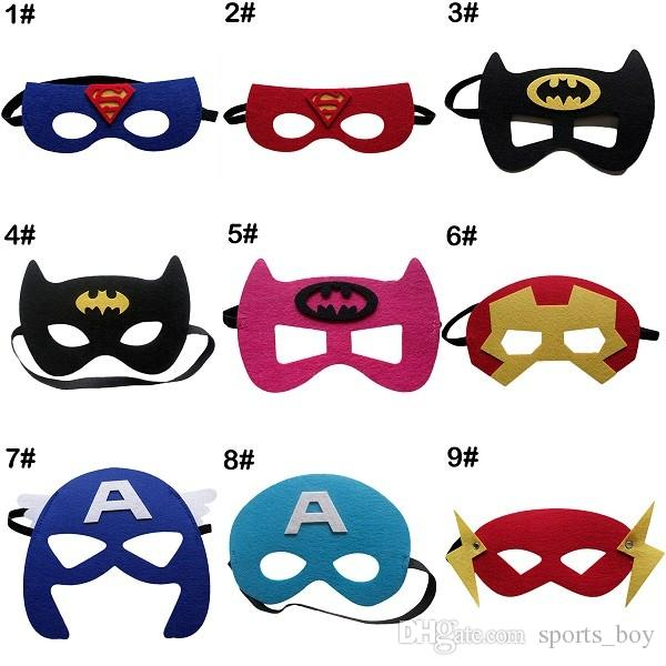 Acheter masque de super h ros cosplay superman batman - Masque de superman ...