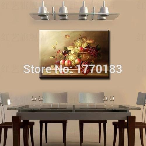 painting dining room. 2018 Master Quality Hand Painted Dining Room Oil Painting Fruit  Grape Canvas Pictures Wall Decoration Table Still Lifes From Verversion