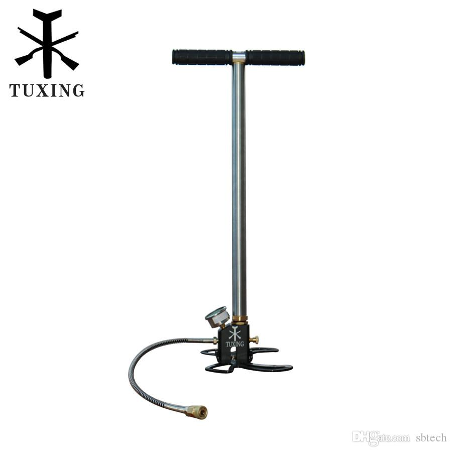 tuxing pcp hand pump 3 stages for air rifles airgun top quality canada 2019 from sbtech  cad