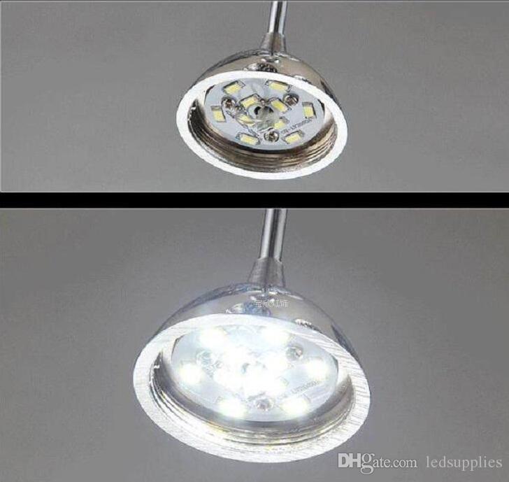 Nowoczesna restauracja Lekka Akrylowa LED Round Water Drop Osobowości Kawy Bar Żyrandol