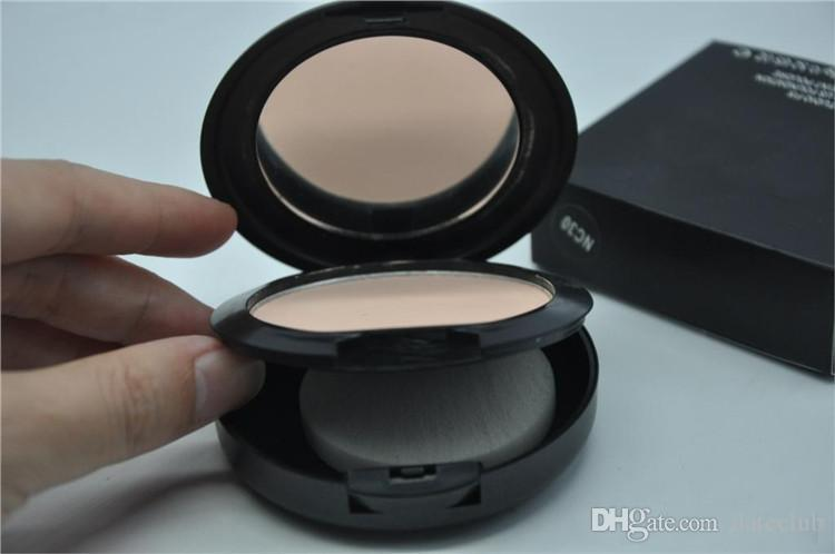 Foundation Brand Make-up Studio Fix Powder Cake Facile da usare Face Powder Blot Press Polvere Sun Block Foundation 15g NC NW