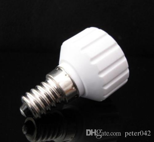 E14 to GU10 램프 홀더 어댑터 소켓 라이트베이스 체인저