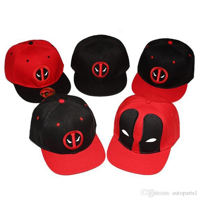 Fashion Comic Marvel Deadpool Hat Snapback Bone Aba Reta Costumes Cotton  Baseball For Men Women Sports Hip Hop Cap Fitted Cap Baseball Caps For Men  From ... 5e1b2fc2540