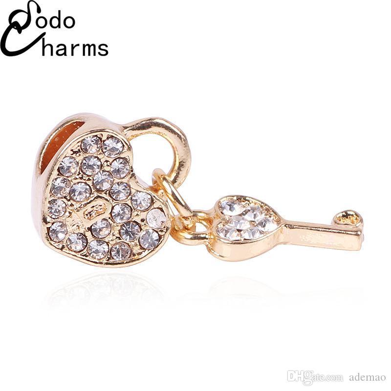 / più nuovi pendenti dorati dei branelli di colore diy i produttori dei monili che vendono il braccialetto della lega accessori diy incanta