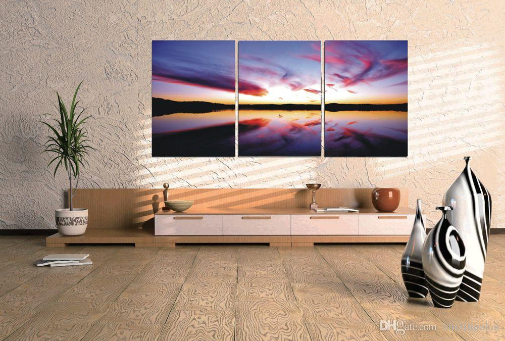 image d'art sans cadre photo 3 pièces
