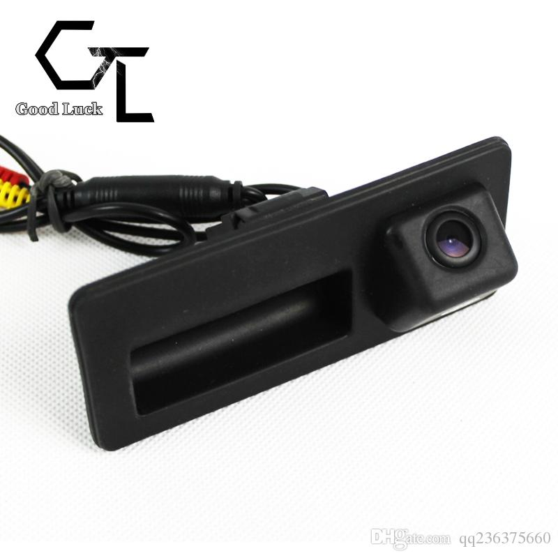 For Audi A6L S6 S7 A6 A7 2012 2013 2014 trunk handle Wireless Car Auto Reverse Backup CCD HD Night Vision Rear View Camera
